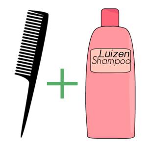 Luizenshampoo & Luizenkammen